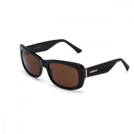 fe9ad95c76d4e Oculos Sol Colcci C0017 Preto Brilho L Marrom - - Óculos de Sol ...