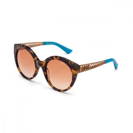 Oculos Sol Colcci C0018 Demi Marrom Brilho E Cobre Fosco L Ambar ... d52f6825e0