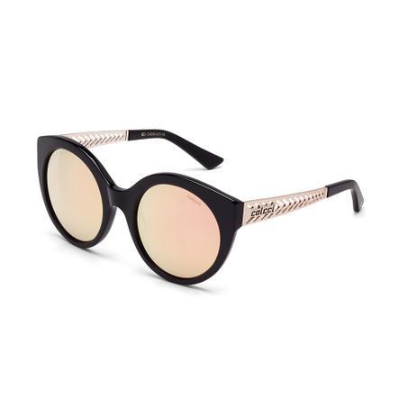 bcd998fd2ce8b Oculos Sol Colcci C0018 Preto Brilho E Dourado Fosco L Marrom Rev ...