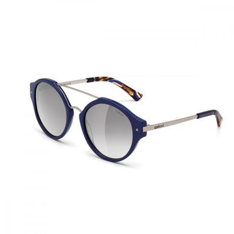 fb9515db15614 Oculos Sol Colcci C0024 Azul Brilho E Demi Fosco L Cinza Fl Prata ...