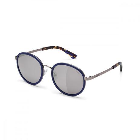 fa34cbc95d84e Oculos Sol Colcci C0027 Azul Brilho E Demi Fosco L Cinza Fl Prata ...