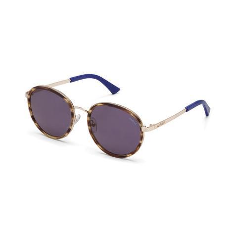 8bd5e2b0250b0 Oculos Sol Colcci C0027 Marrom Marmorizado Brilho E Azul Brilho L ...