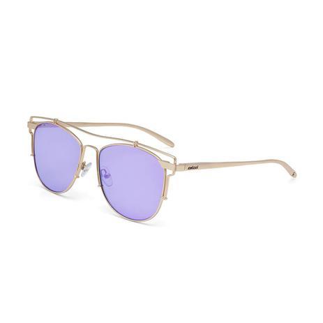 a3a66b4b4bf15 Oculos Sol Colcci C0067 Dourado Brilho L Azul Fl Violeta - Óculos de ...