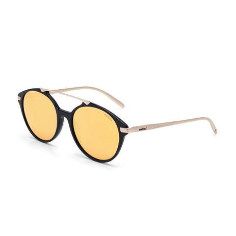 9c0af2dd0 Oculos Sol Colcci C0069 Preto Brilho E Dourado Brilho/L Marrom Re ...