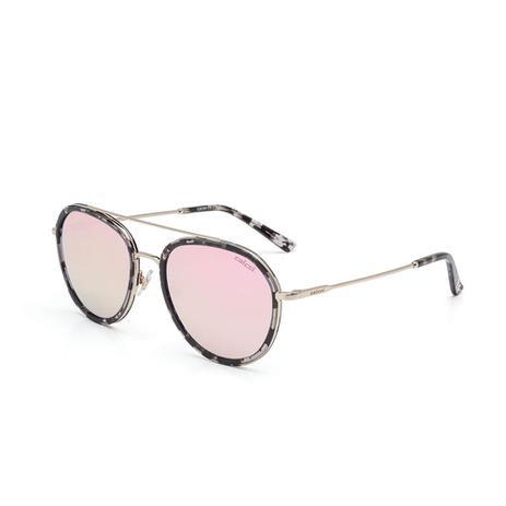 Oculos Sol Colcci C0090 Demi Preto E Branco C  Dourado Brilho L ... 87aa1b48a3