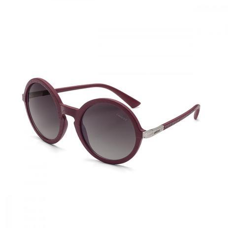 Oculos Sol Colcci Janis Couro Marsala Fosco C Prata L Cinza Degr ... 4f4da1bf65