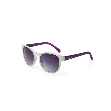 Oculos Sol Colcci June Branco Leitoso Fosco L Azul Degr - Óculos de ... 49c7b369ab