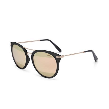 a12bc464ae177 Oculos Sol Colcci Linda Preto Fosco C  Dourado Fosco L Dourado St ...