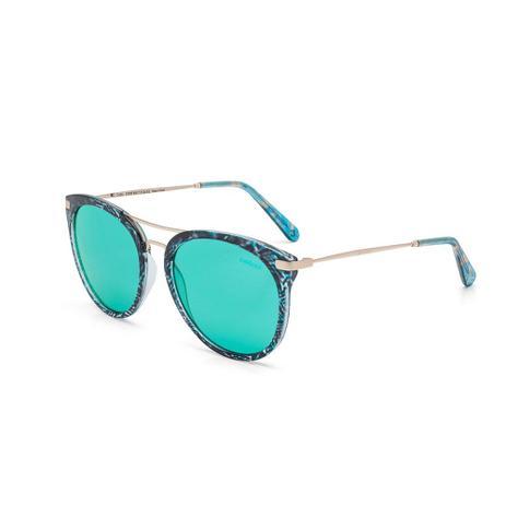Oculos Sol Colcci Linda Verde Turquesa E Preto Mascara Mista Com ... 6706a6dea1