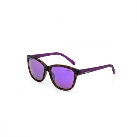 ea3f20262 Oculos Sol Colcci Sharon Demi Marrom Fosco C Roxo L Cinza Revo ...