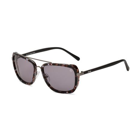 Oculos Sol Forum F0007 Marrom Demi C Preto L Cinza - Óculos de Sol ... 6a86cd5cac