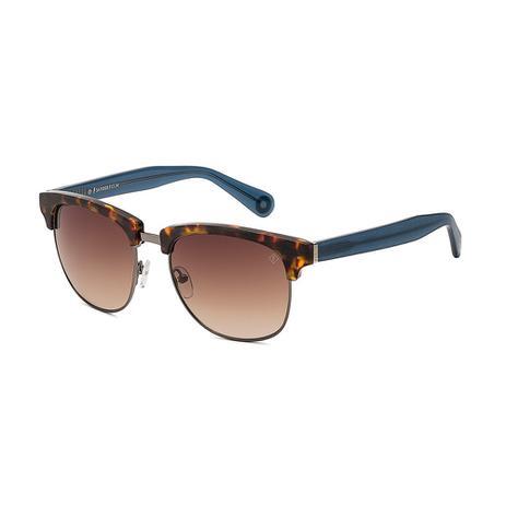 Oculos Sol Forum F0008 Demi Marrom C Azul L Marrom Degr - Óculos de ... 27bef6a0de