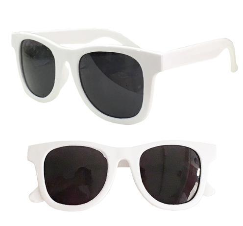 c1b268767 Óculos Sol Infantil Criança Unissex Com Proteção Uv400 - Branco - Joli monde