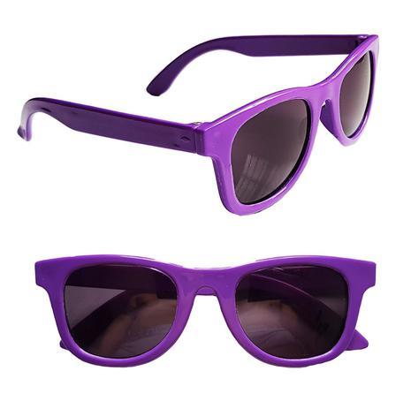 593fa1016 Óculos Sol Infantil Criança Unissex Com Proteção Uv400 - Roxo - Joli monde