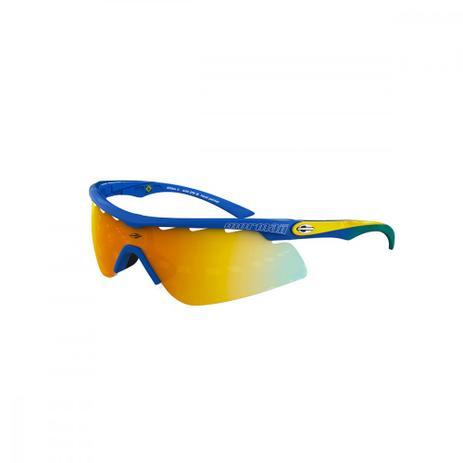 d49a1972e Oculos Sol Mormaii Athlon 2 Azul Verde Amarelo Tamp Prata L - Óculos ...