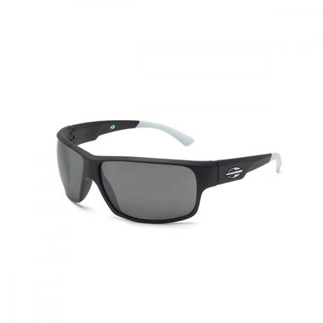 0ac137f6fea0a Oculos Sol Mormaii Joaca 2 Preto Fosco Com Detalhe Branco Fosco L Cinza