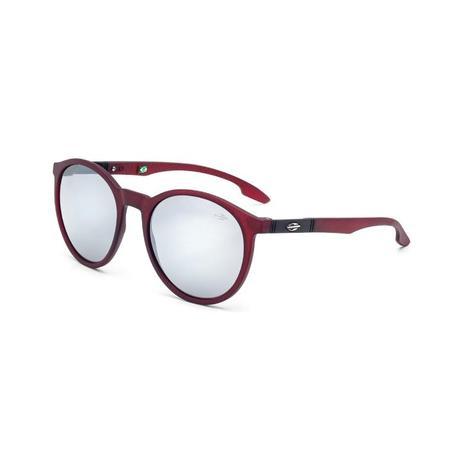 7f6150812bf7d Oculos Sol Mormaii Maui Burgundy Fosco L Cinza Fl Prata - Óculos de ...