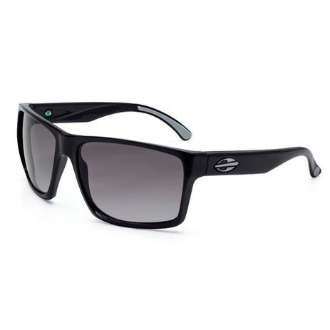 Óculos solar mormaii carmel preto brilho lente cinza degradê preto ... 0e9ddcd641