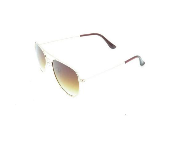 34e909785 Óculos Solar Prorider Infantil dourado com lente degrade marrom 7754 ...