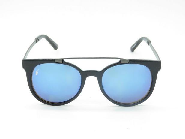 1ebee8405 Óculos solar Prorider preto com lente azul 5240 - Óculos de Sol ...