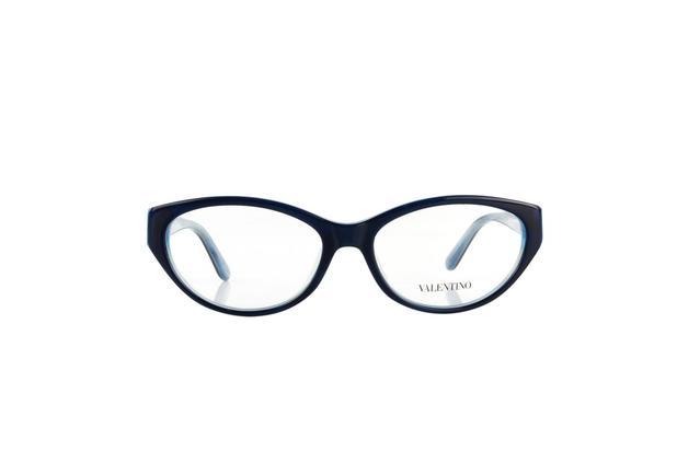 e428edb55 Óculos Valentino Armação Acetato Azul Opticas Melani - Óptica ...