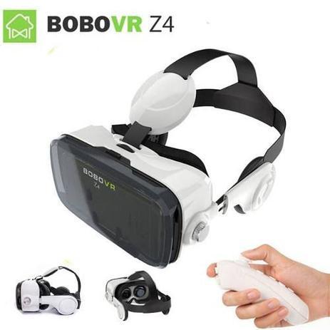 Óculos Virtual Bobovr Z4 Fone Acoplado 3d + Controle - Óculos de ... 2bdce5fc5e