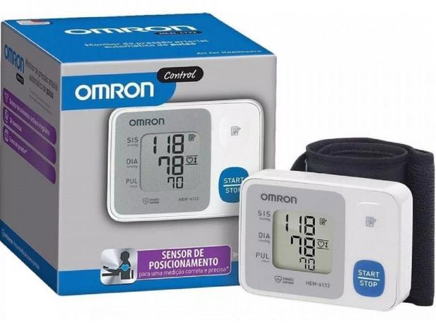 Imagem de Oferta Aparelho Pressão pulso Automático Omron HEM 6124 medir