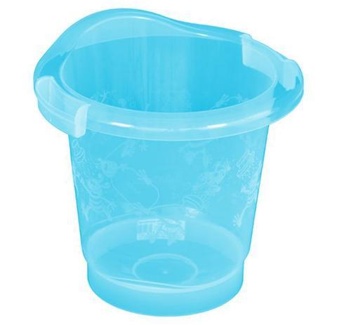 Imagem de Ofurô Banheira Balde Azul Para Banho Em Bebê Burigotto
