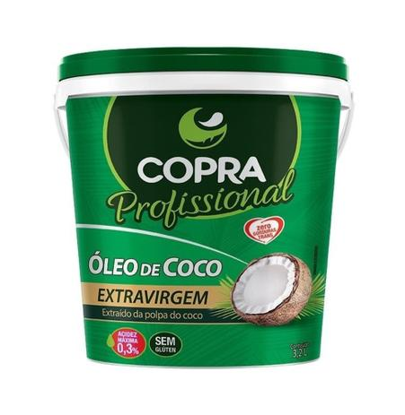 Imagem de Óleo de Coco Extra Virgem 3,2L Balde - Copra