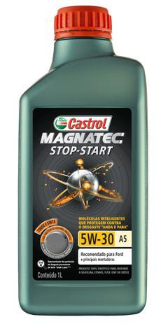 Imagem de Óleo motor carro castrol magnatec stop-start 5w30 a5 100% sintético 1 litro