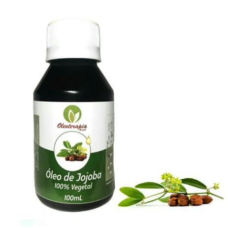 Óleo vegetal de Jojoba 100ml prensado a frio/uso cosmético - Oleoterapia Brasil