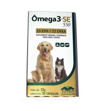 Imagem de Omega 3 SE 550 (30 Capsulas) - VETNIL