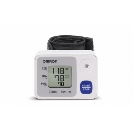 Imagem de Omron - monitor de pressão de pulso hem-6124