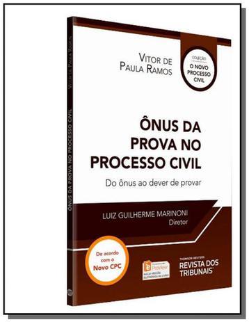 Imagem de Onus da prova no processo civil, o: do onus ao dev