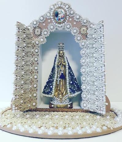 Imagem de Oratorio decorado em mdf