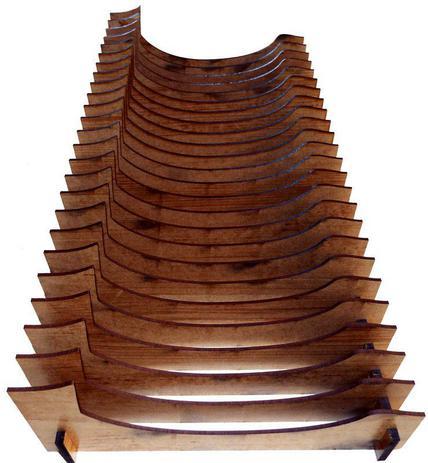 Imagem de Organizador de Pratos Vertical (24 pratos)