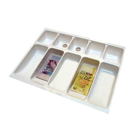 Imagem de Organizador Divisor Porta Notas Moedas Dinheiro Cédulas 12153 42x31,5cm Magnum Industrial