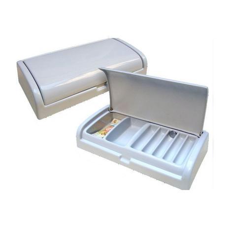 Imagem de Organizador Divisor Porta Notas Moedas Dinheiro Cédulas com Tampa 40x20cm Magnum Industrial
