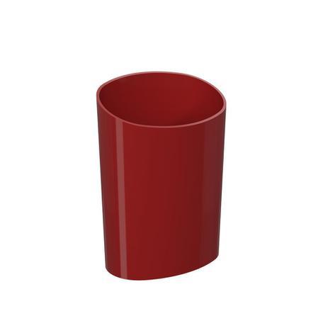 Imagem de Organizador Glass 11,7 x 8,1 x 16,2 cm Vermelho Bold - Coza