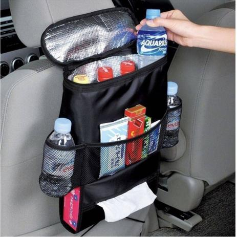 eb64899e6 Organizador Portatil Cooler Bolsa Termica Para Carro E Automovel Porta  Treco Multiuso Uber Taxi - DUPL - Super25