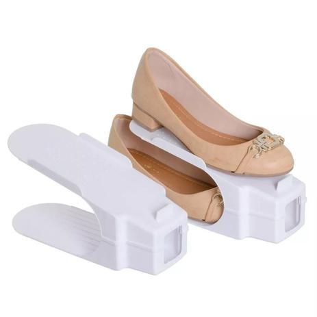 d2dd16065 Organizador Rack Sapato 10 unidades Branco - China - Organizador de ...
