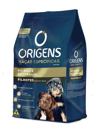 Imagem de Origens Raças Específicas para Cães Filhotes das Raças Pit Bull e Rottweiler