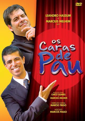 Imagem de Os Caras De Pau - DVD