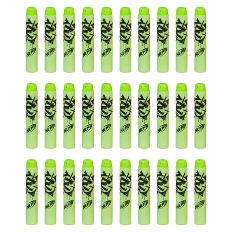 Imagem de Pack Refil Nerf Zombie com 30 Dardos Oficiais A4570 - Hasbro