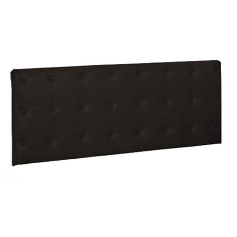 Imagem de Painel Cabeceira De Casal 140cm Para Cama Box Toskana Napa Marrom - DS Estofados