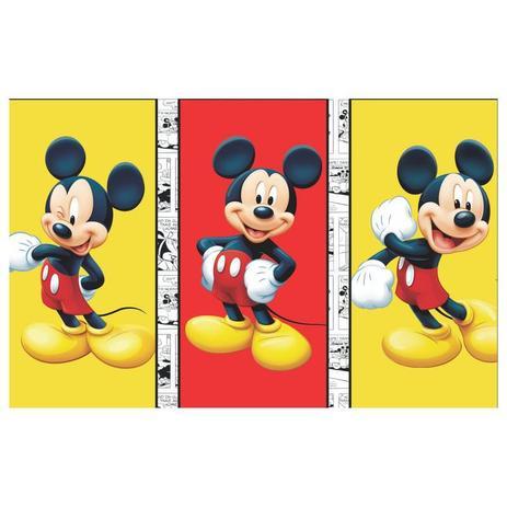 Painel De Festa Infantil Mickey Trio 3 00m X 1 70m Wrio Painel