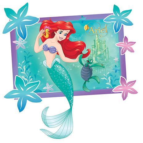 Painel Para Decoração Ariel Pequena Sereia Regina Festas Artigos