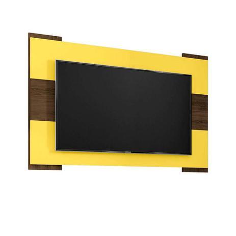 Imagem de Painél Para Tv 55 Polegadas Viena Cedro E Amarelo