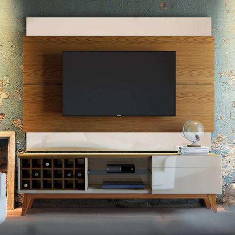 Imagem de Painel Para TV 60 Polegadas Classic II Freijó com Off White