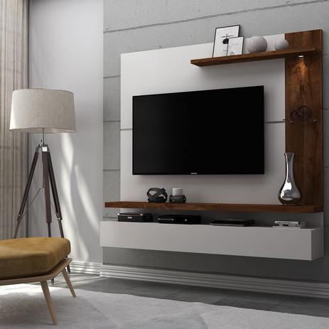 Painel para tv at 50 polegadas com led lira dj m veis for Muebles para led 50 pulgadas